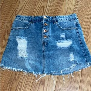 Forever 21 Denim Skirt